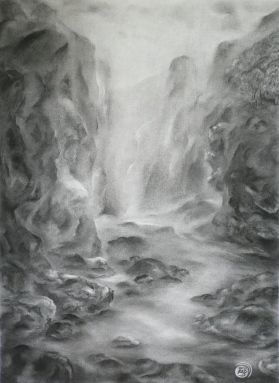 MYSTERY - charcoal