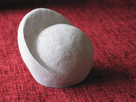 Clay sculpture - moon