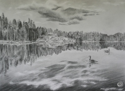 SERENITY - charcoal