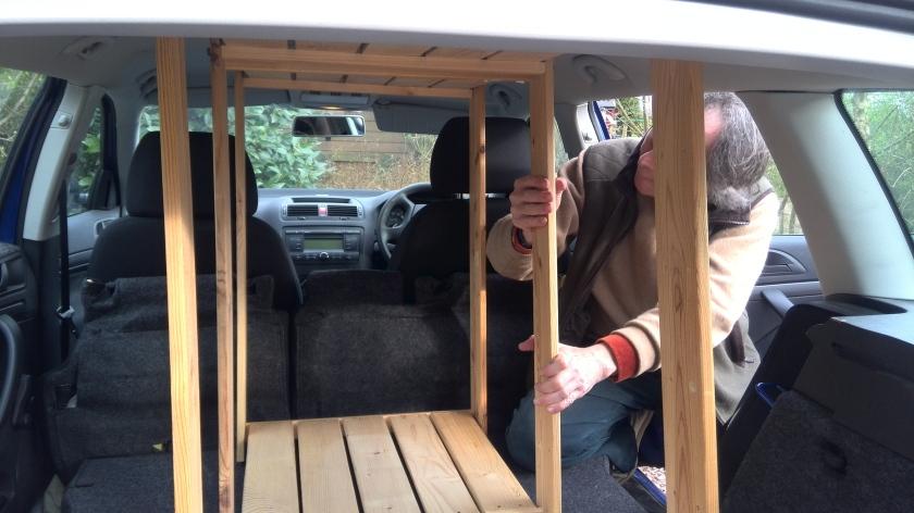 Picture transport challenge - a snug fit!