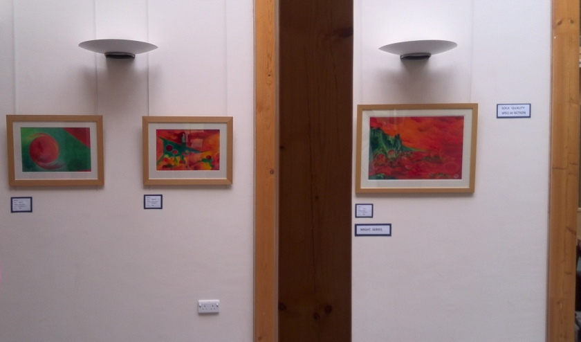 Exhibition - Might series II to IV