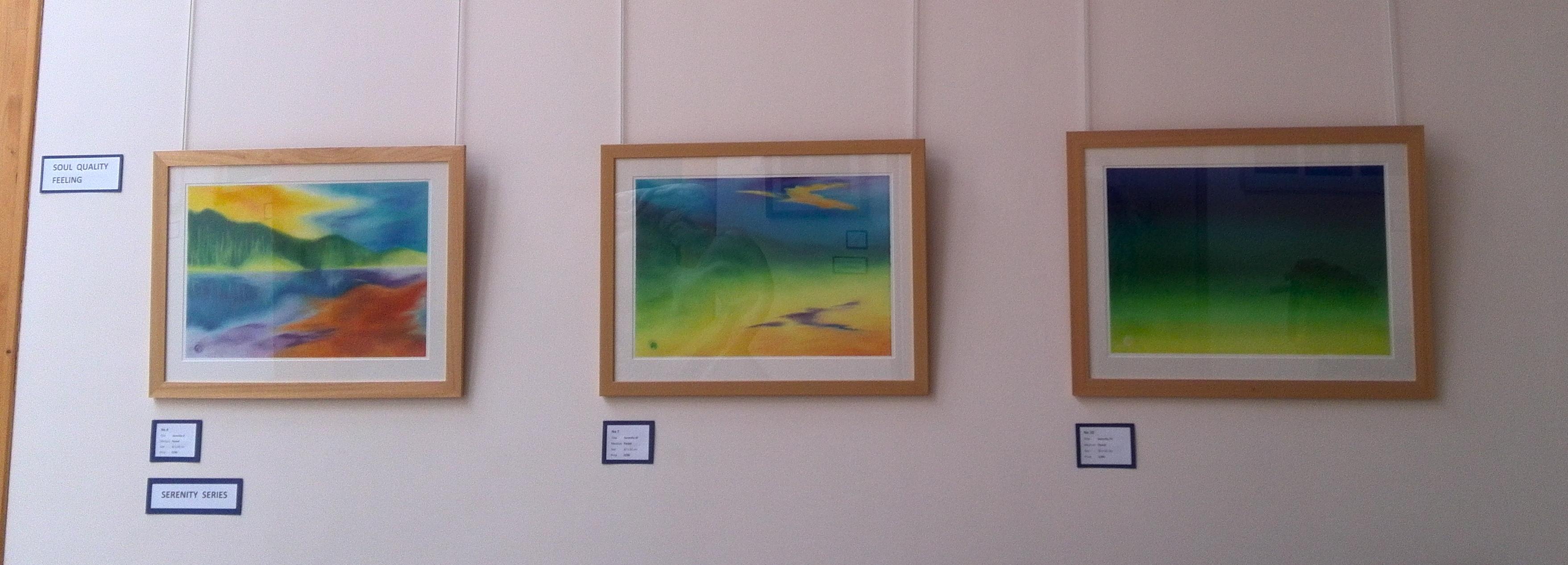 Exhibition - Serenity series