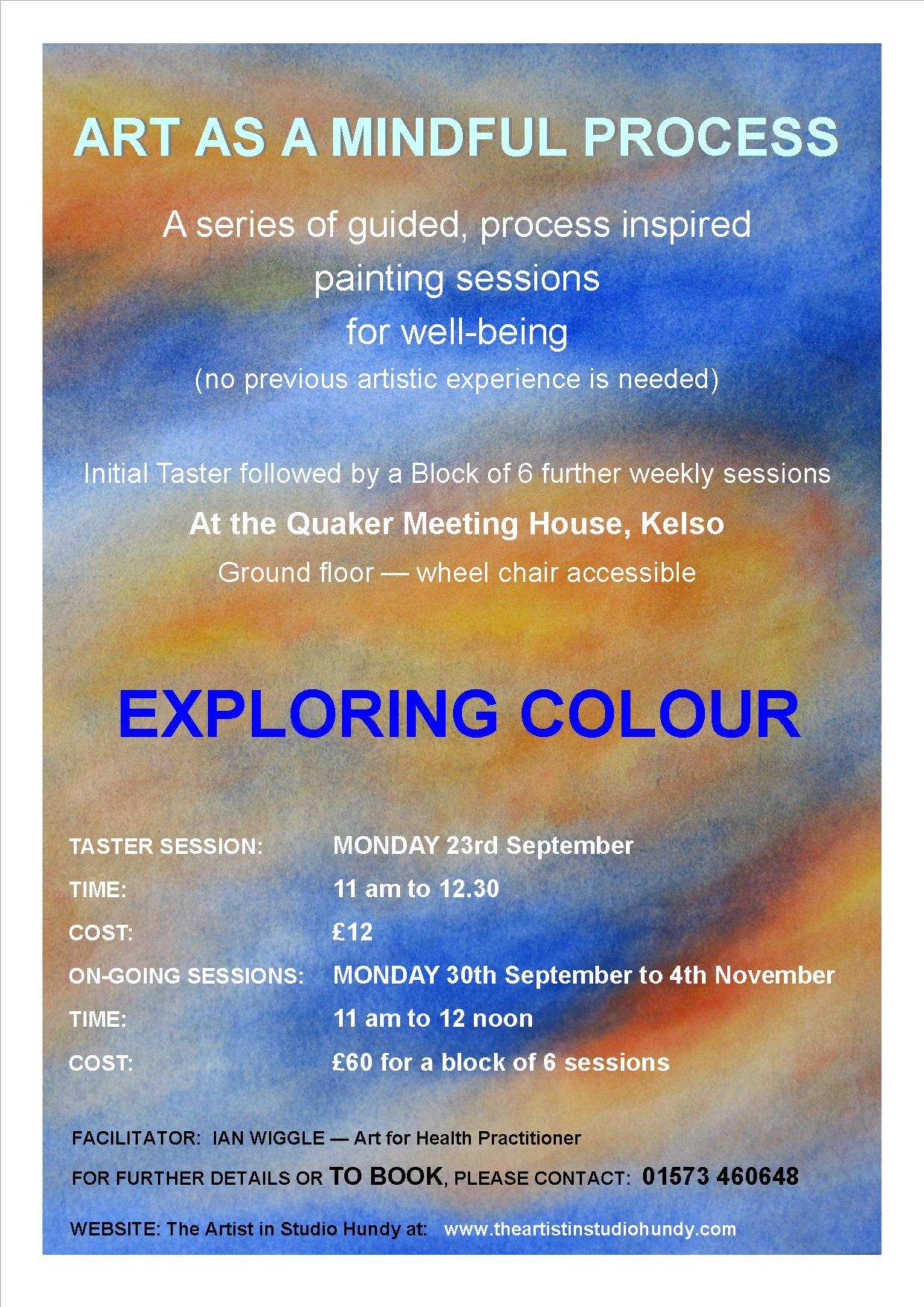 Poster - Art as a Mindful Process